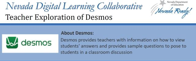 picture of the top of the infographic about Desmos