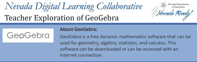 picture of top of infographic about GeoGebra