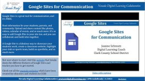 picture of the google sites infographic