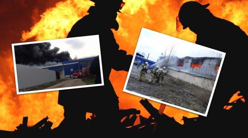 Пожар на одном из складов Медногорска потушен