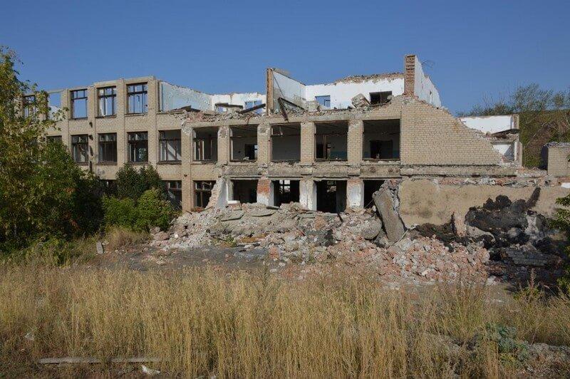 Крепкое здание школы №8