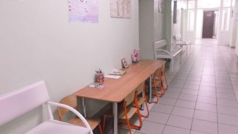 Игровая зона в детском отделении