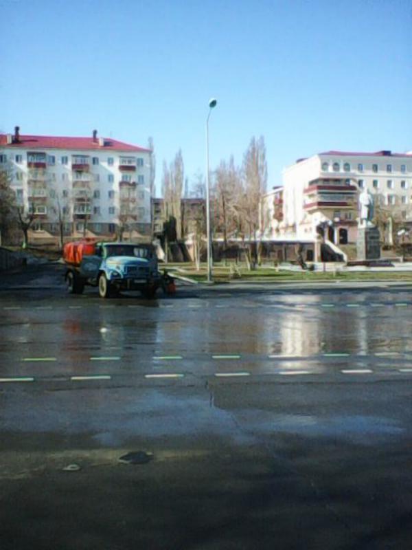 Центральная площадь Медногорска