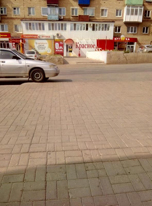 Улица Комсомольская в Медногорске