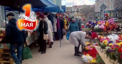 Народ шикует: покупает продукты