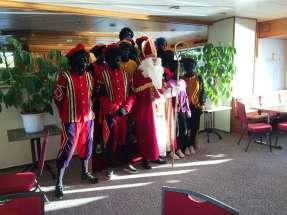 Sinterklaas groepsfoto