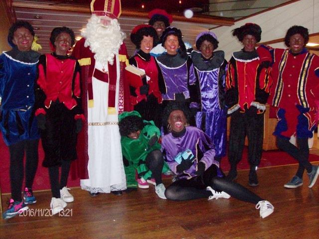 Sinterklaas intocht Remich in 2016