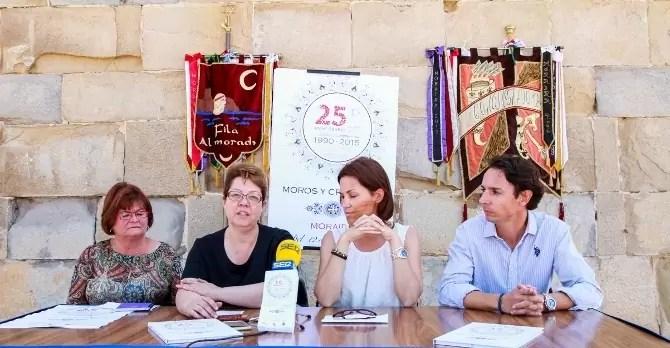 Moraira celebra este año su 25 aniversario de la festividad de Moros y Cristianos