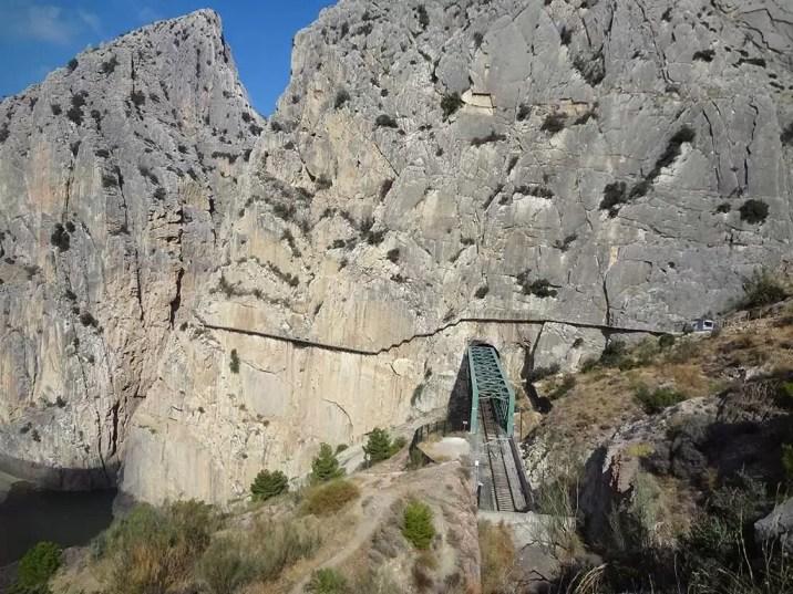 Overzicht Spoorbrug & Pad