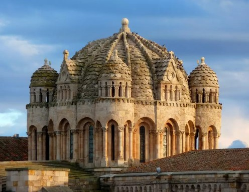 De kathedraal van Zamora