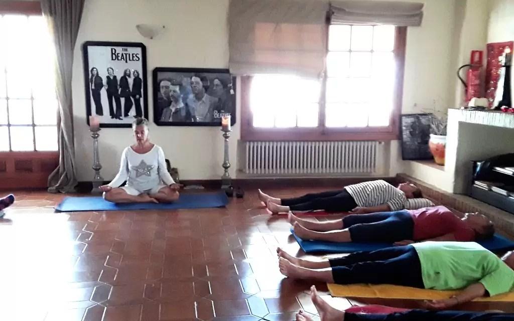 Verslag Yoga proefles 9 mei 2018