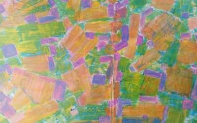Een penseelstreek: lijnen, hoeken en vormen