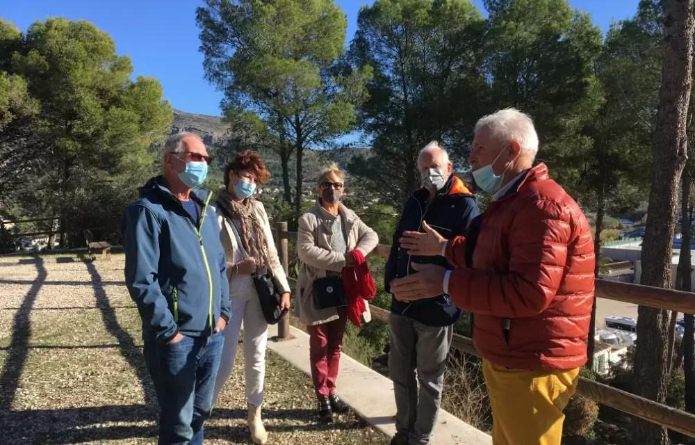 Verslag Rondwandeling Jalón 12 december 2020