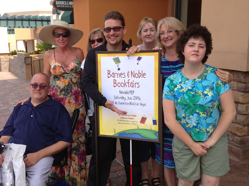 Group photo with Sam Lieberman at a Barnes And Noble PEP event