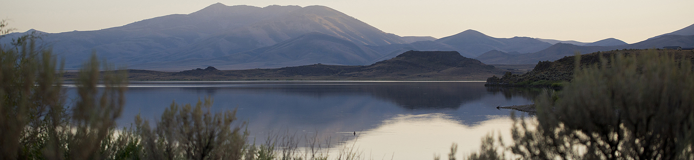 Nevada Lake Scene