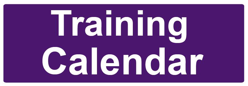 Training Calendar Button