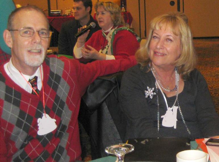 Terri and Doug at a PEP event