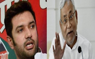Politics on letter of Chirag Paswan against CM Nitish Kumar