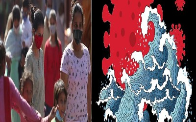 Coronavirus Case in India,Second Wave,Third Wave