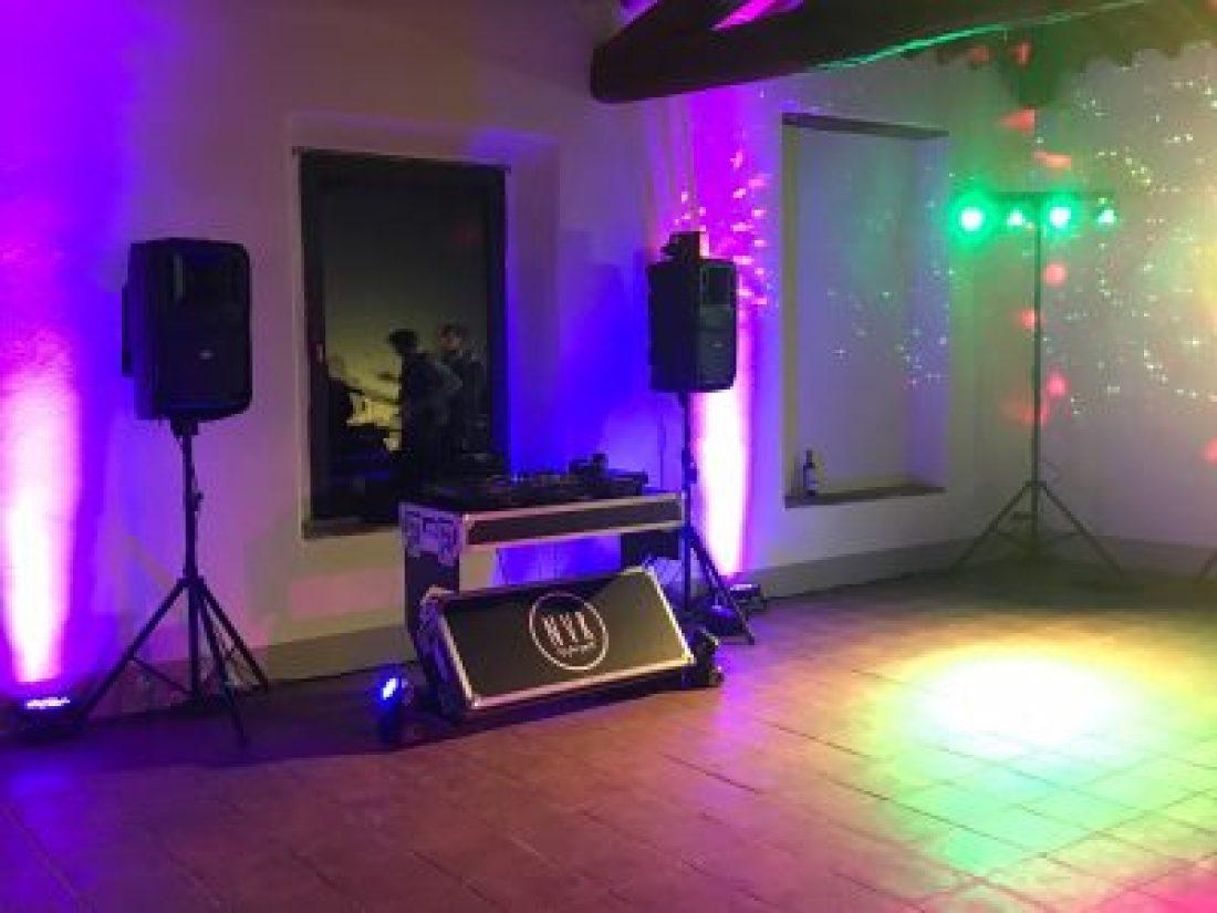 Impianto audio luci dj