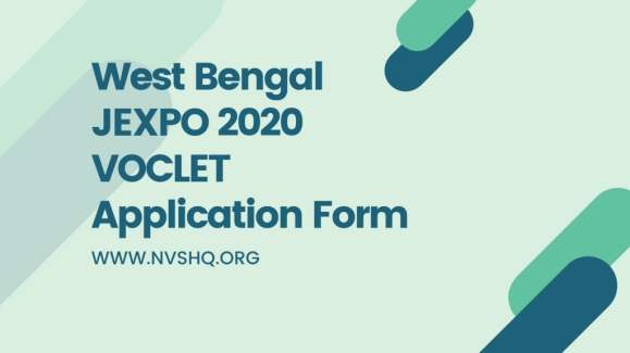 West Bengal JEXPO 2020 Application