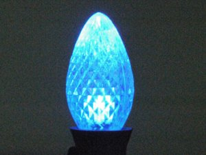 C7 LED Retro Fit Bulb Blue 25PK