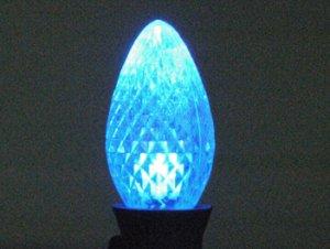 C7 LED Retro Fit Bulb Blue 25PK
