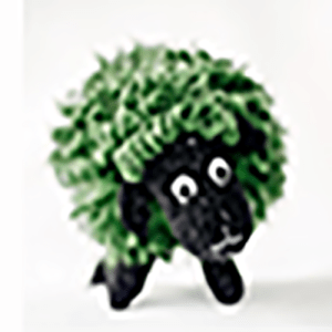 nvwools, the green sheep by smallscrafts