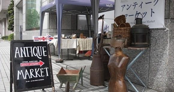 青山ウィークリーアンティークマーケット ファーマーズマーケット 国連大学 毎週土曜開催