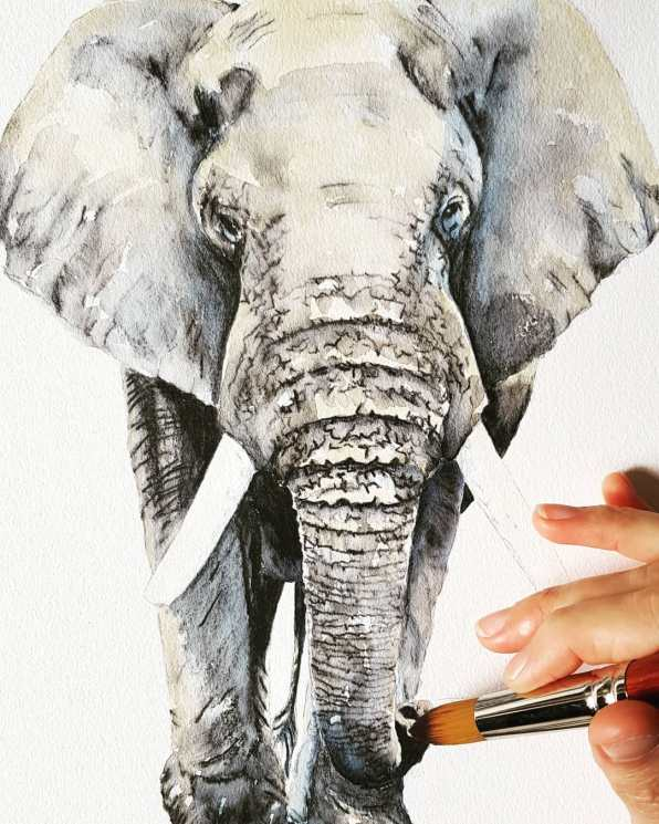 LP_Painting Elephant