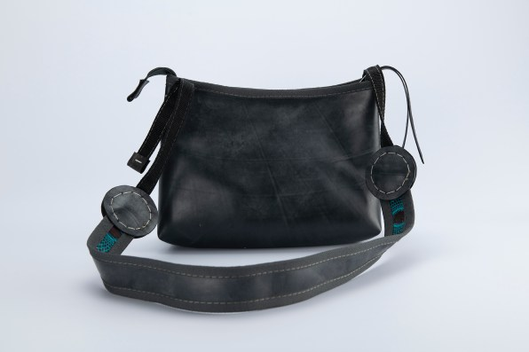 N&N Sling bag Africa logo rear view dark strap