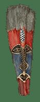 Duze Palm Frond Mask by Bob Mnisi
