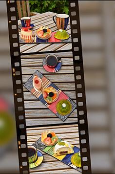 Letsopa Ceramics Coffeecups_Mugs_Plates on filmrol several designs