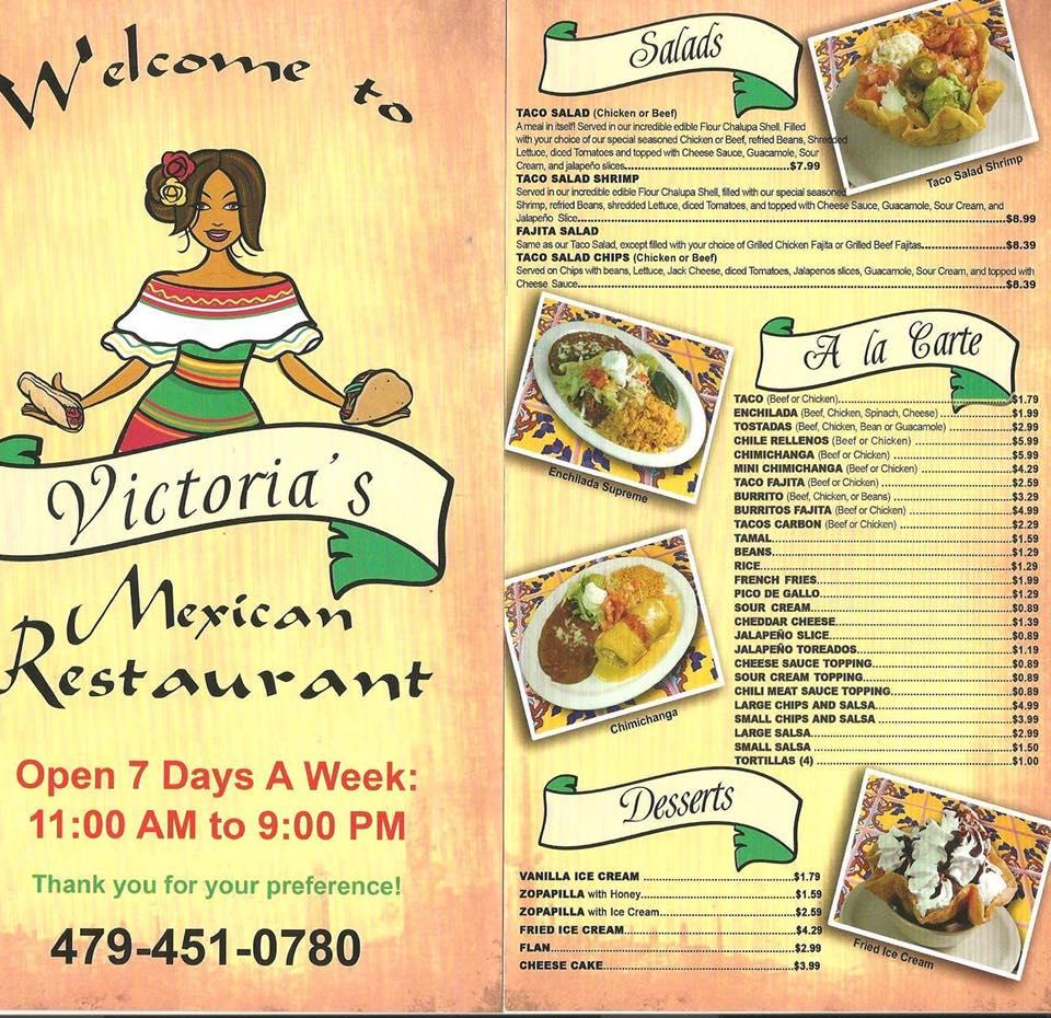 De Menu Mexico Restaurante