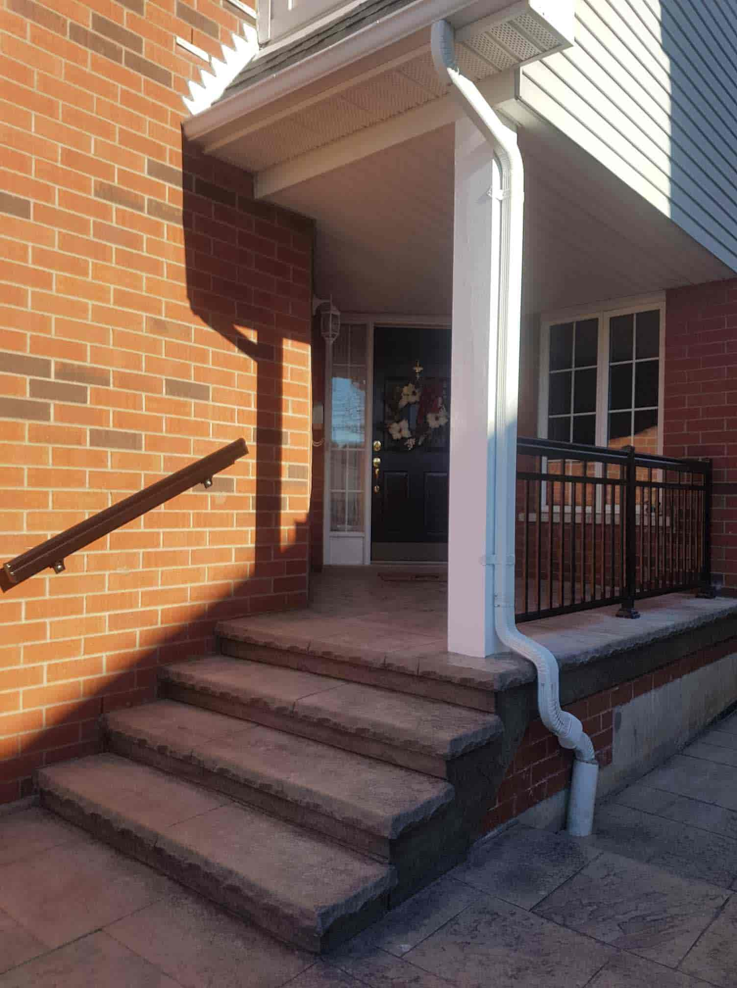 Commercial Aluminum Railing Systems Handrails Amp Its Height