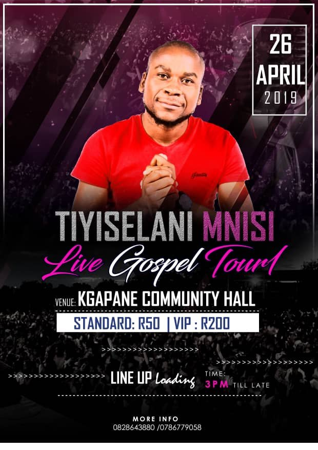 Unity In Christ Presents: Tiyiselani Mnisi Live Gospel Tour 1