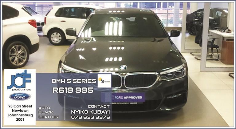 BMW 5 Series at Joburg City Ford