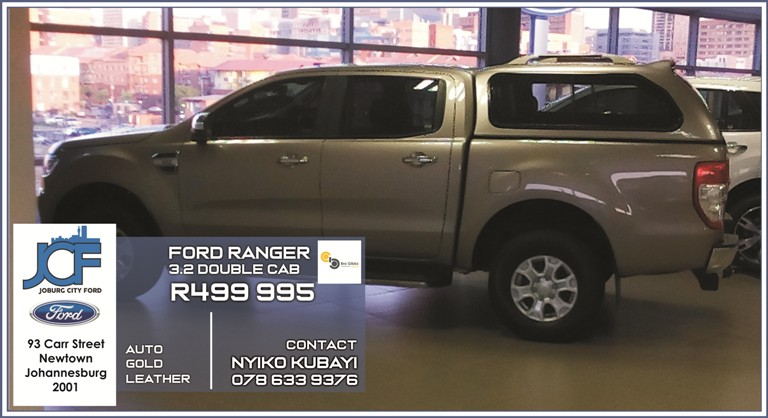 Ford Ranger 3.2 Double Cab at Joburg City Ford