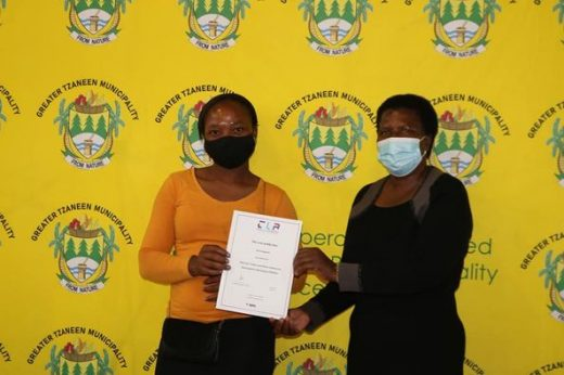 Informal Traders received R3000 boost and training