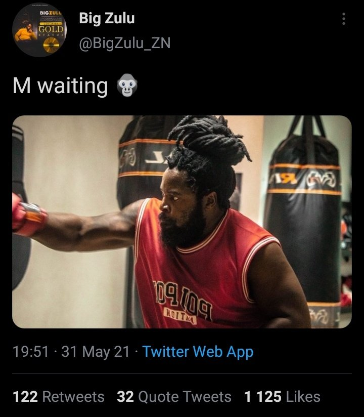 Did King Monada bite off more than he can chew by publicly challenging Big Zulu to a boxing match?