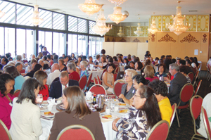 The Women of Color luncheon sold out within half an hour, a happy surprise for the event's organizers