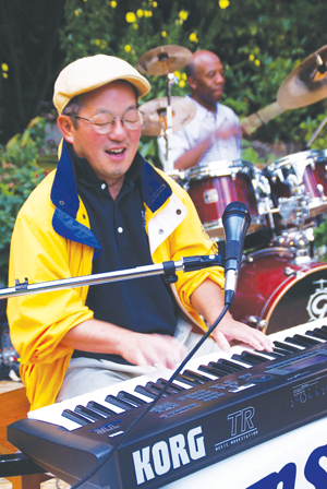 Tsutakawa says he loves jazz because it allows room for spontaneity.