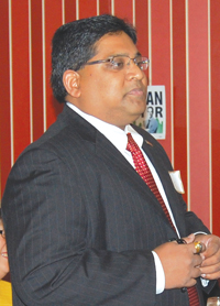 Washington State India Trade Relations Action Committee Co-Chair Debadutta Dash