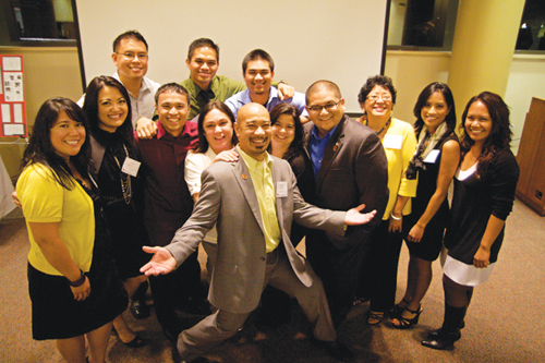 Some of Seattle University's Filipino American alumni (Photos by Clara Ganey/Seattle University)