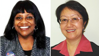 New York City Councilmember-elect Debi Rose (left) and New York City Councilmember-elect Margaret Chin