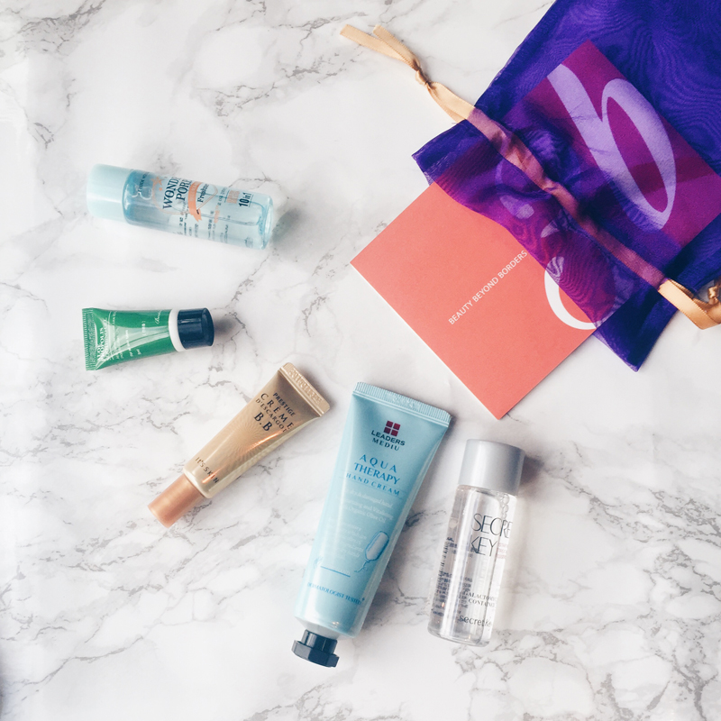 Some of the products featured by Beauty Beyond Borders. (Photo credit: Beauty Beyond Borders)