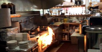 Fire at Thai restaurant