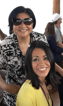 Maureen Francisco and mom