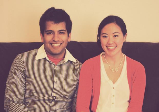Ryan Waliany (left) and Serena Wu