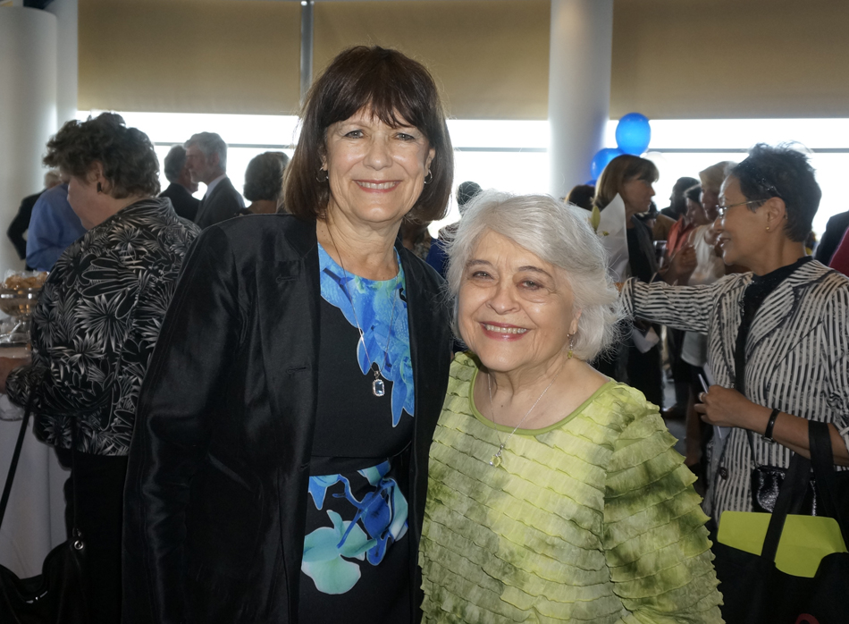 with Hon. Phyllis G. Kenney